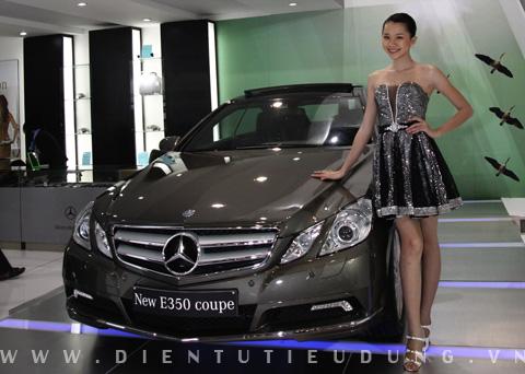 Mercedes E350 Thảo Nhi