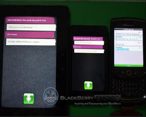 Playbook, Blackberry 10, SayIt, iPhone, Apple,  Blackberry, cong nghe, ung dung