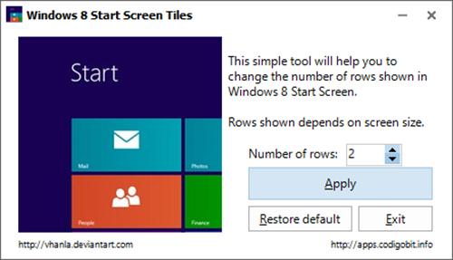 Windows 8, man hinh Start, Windows 8 Start Screen Tiles, cong nghe