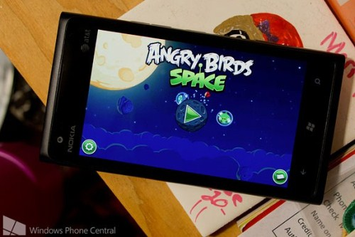 game, Angry Birds Space, Windows Phone 7, Windows Phone 8, cong nghe