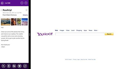 Yahoo, Yahoo Mail, Windows 8, cong nghe, cai Yahoo Mail tren Windows 8