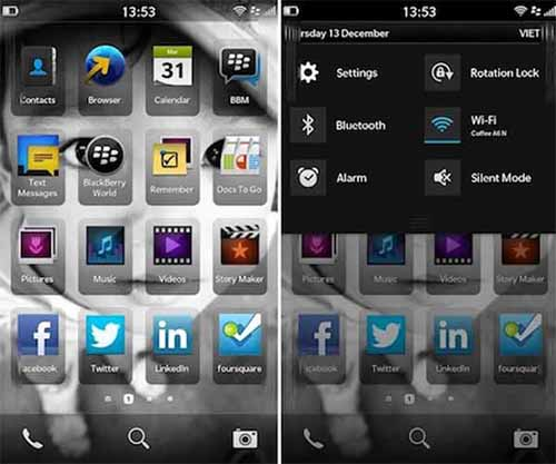 BlackBerry, BlackBerry 10, giao dien, cong nghe,  Android, iOS,
