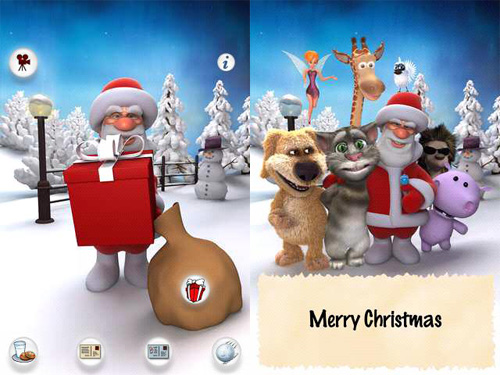 Android, ung dung di dong, ung dung Android, giang sinh, Christmas, cong nghe, thu thuat