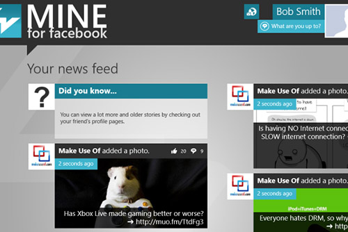 Windows 8, ung dung, khong the thieu, cho nguoi dung, cong nghe, G maps,mine for facebook
