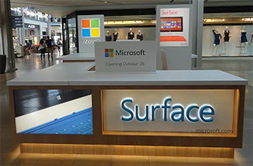 Surface, kinh doanh, kem hieu qua, Microsoft, tablet