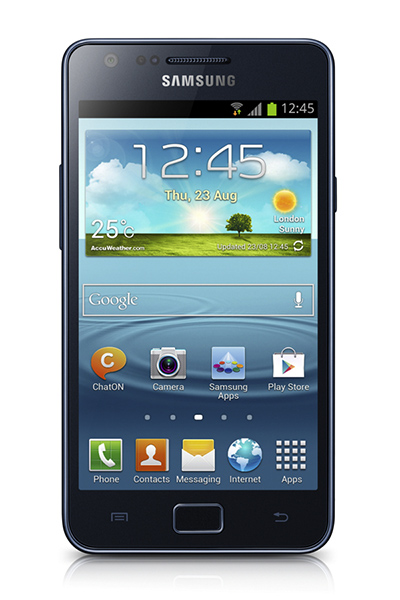cau hinh, android, giao dien,  TouchWiz, tuy chon, NFC, S Voice, Voice Unlock, S Beam, Samsung Galaxy S II Plus, Samsung,  Samsung Galaxy, S II Plus, galaxy S II