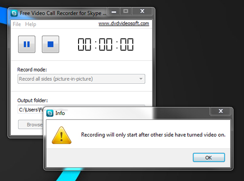 Video Call Recorder, ghi video skype, Windows, video, ug dung