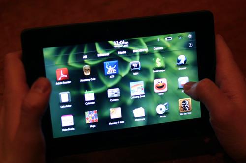 BlackBerry,  BlackBerry PlayBook, iPad, iPad4, tablet, rim, apple