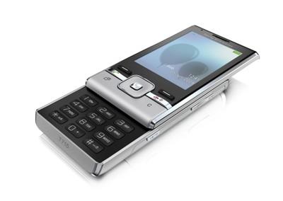 Sony Ericson T715 với thiết kế thời trang. Ảnh: Sony Ericsson
