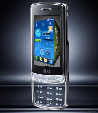 Giao diện 3D mới của LG. Ảnh: LG