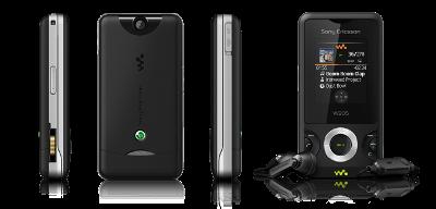 Sony Ericsson W205. Ảnh: Sony Ericsson