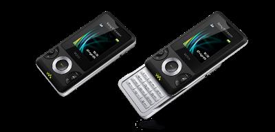 W205 có thiết kế trượt thời trang. Ảnh: Sony Ericsson