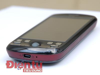 Viền bi điều khiển và các nút chức năng của HTC Magic