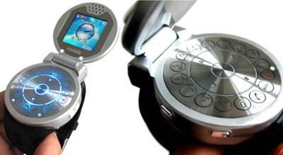 Flip Watch Phone. Ảnh: 3G Watches