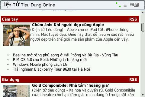 Dientutieudung.vn trền mobile
