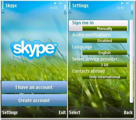 Gọi miễn phí với Skype