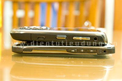 Nokia E71 chỉ có jack audio 2.5 mm