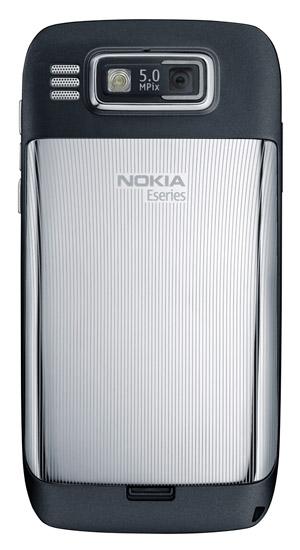Nokia E72 trang bị camera 5.0 Megapixels