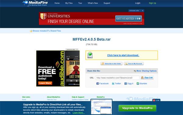 Dịch vụ lưu trữ MediaFire rất được ưa chuộng tại Việt Nam