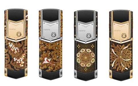 Bốn chiếc điện thoại mới của Vertu JP