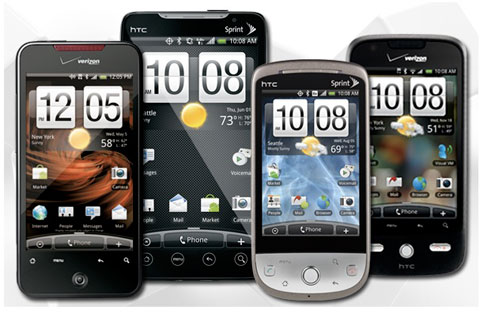 Top 5 di động Android bán chạy có 4 chiếc do HTC sản xuất