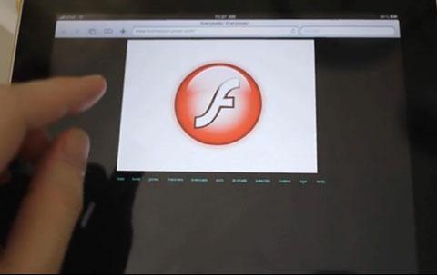 Frash cho phép iPhone, iPad và iPod Touch Gen 3 chạy Flash