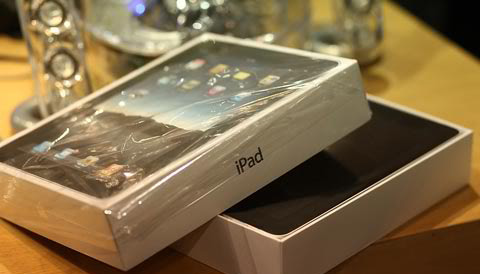tablet, Apple iPad