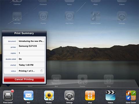 iOS, đa nhiệm