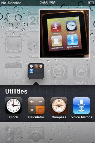 iOS, Voice Memo