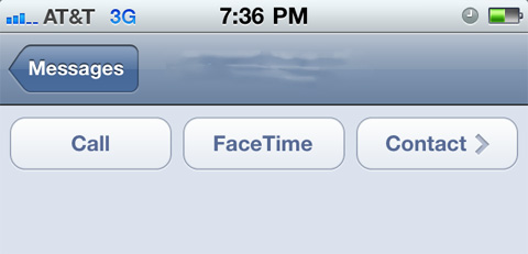 iOS, Facetime
