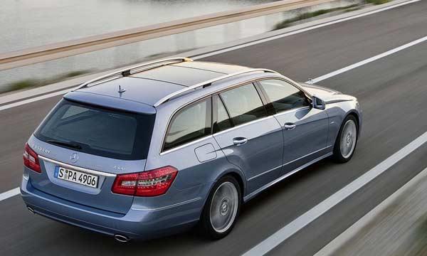 Mercedes E-Class Estate lộ diện