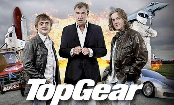 TopGear Team: Hammond, Clarson và May (từ trái qua)