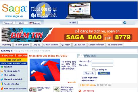 10 website hữu ích cho học sinh, sinh viền, Saga