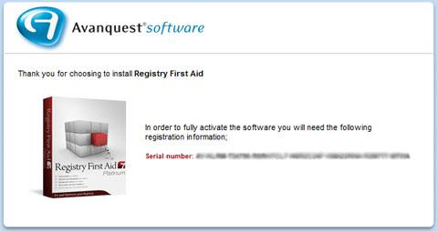 Registry First Aid