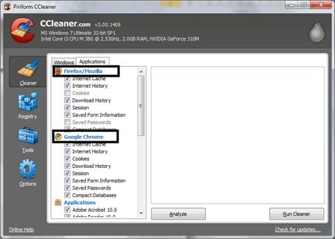 CCleaner, dọn dẹp máy tính, phần mềm, software, dọn rác