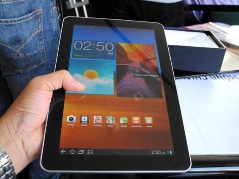 galaxy tab 10.1, tablet_news, ra mat, samsung