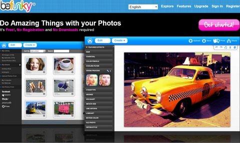 chỉnh sủa ảnh, edit photo, befunky, aviary, fotoflexer, thủ thuật, tip, trick