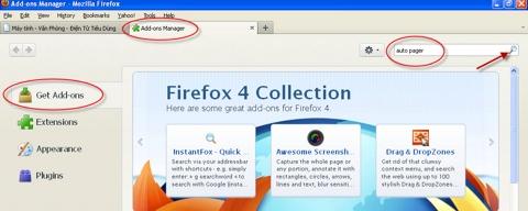Auto Pager, Firefox, Chrome, tăng tốc, duyệt web, lướt web, tip, trick, thủ thuật, software, add on, extension