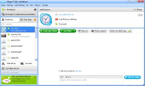Skype, thủ thuật, tip, trick,