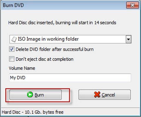 ConvertXtoDVD, tạo đĩa DVD, convert video, chuyển đổi video, thủ thuật, tip, trick