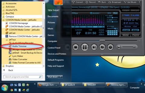 Jet Audio không chỉ là chương trình nghe nhạc mạnh mẽ mà còn là một phần mềm đa dụng, tích hợp nhiều tính năng hữu ích.