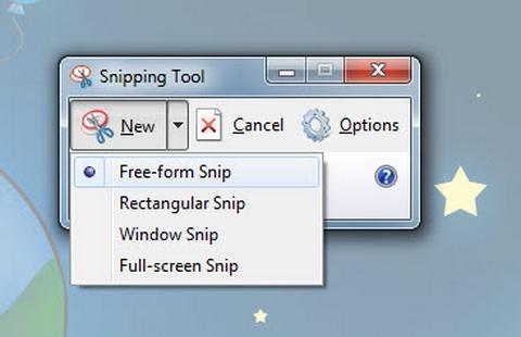 Windows 7, Snipping Tool , chụp ảnh màn hình, thủ thuật, tip, trick