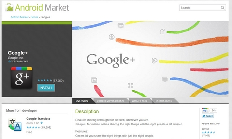 Google+, Google plus, Facebook, Google, web-news