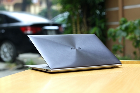 Ultrabook, Asus, Zenbook, UX21E, cận cảnh, hands-on, unbox, trền tay