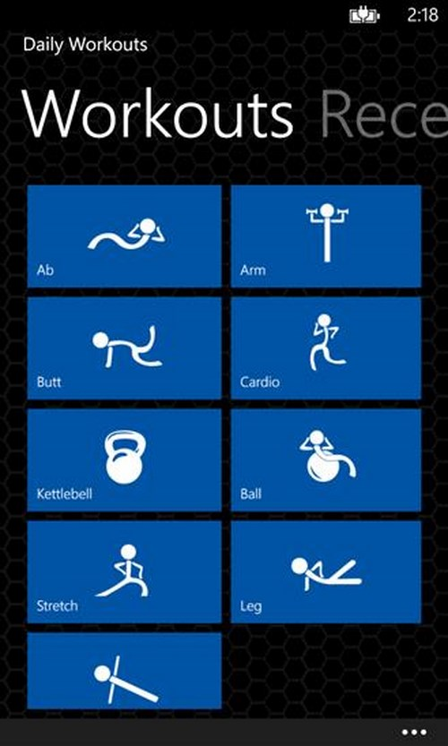microsoft, windows phone, windows phone 8, WP 8, Daily Workouts, Workouts  Scheduler, Allrecipes, Relax Melodies, MyFitnessPal, Gym, PocketGuide, Heart Rate, Weight & BMI  Tracker, iFood.tv