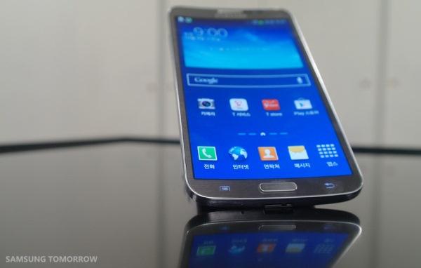samsung, LG, man hinh cong, LCD cong, Galaxy Ground, G Flex.