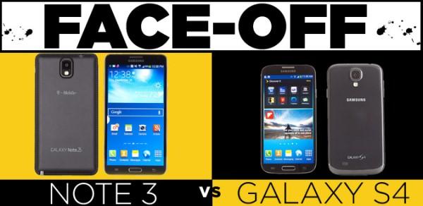 Samsung, Galaxy, Note 3, S4