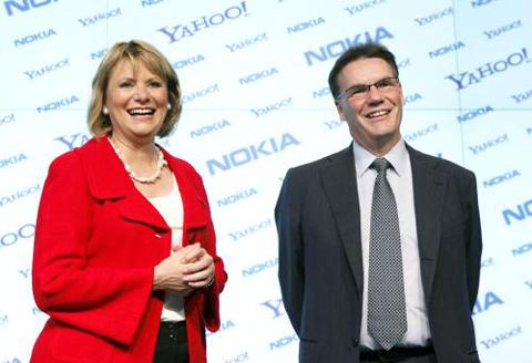 Nokia hợp tác với Yahoo!