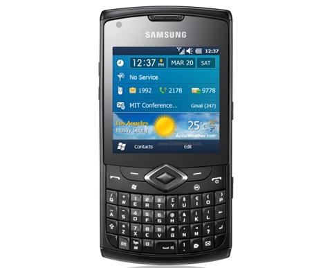 Samsung B7530 Omnia Pro 4