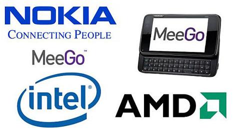 AMD, Megoo, Intel, Nokia